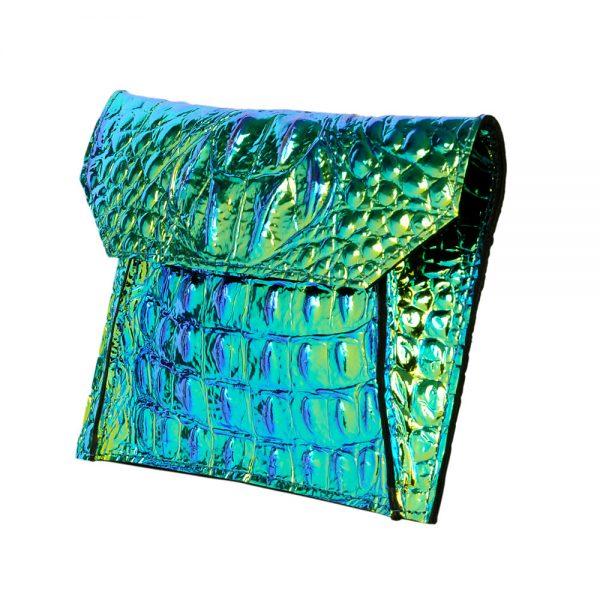 Azteca Galaxy a unique opalescent envelope bag