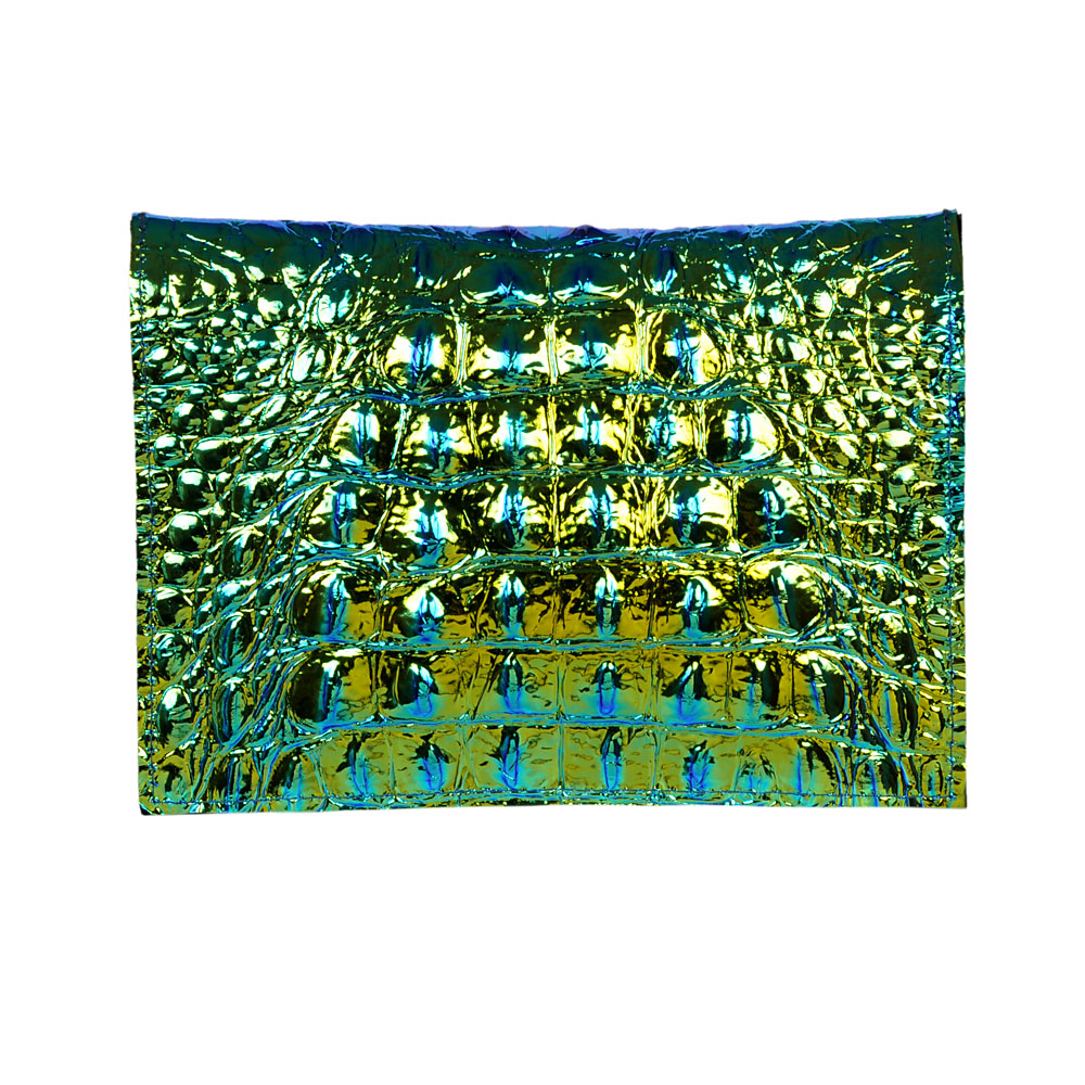 Azteca Galaxy a unique opalescent envelope bag