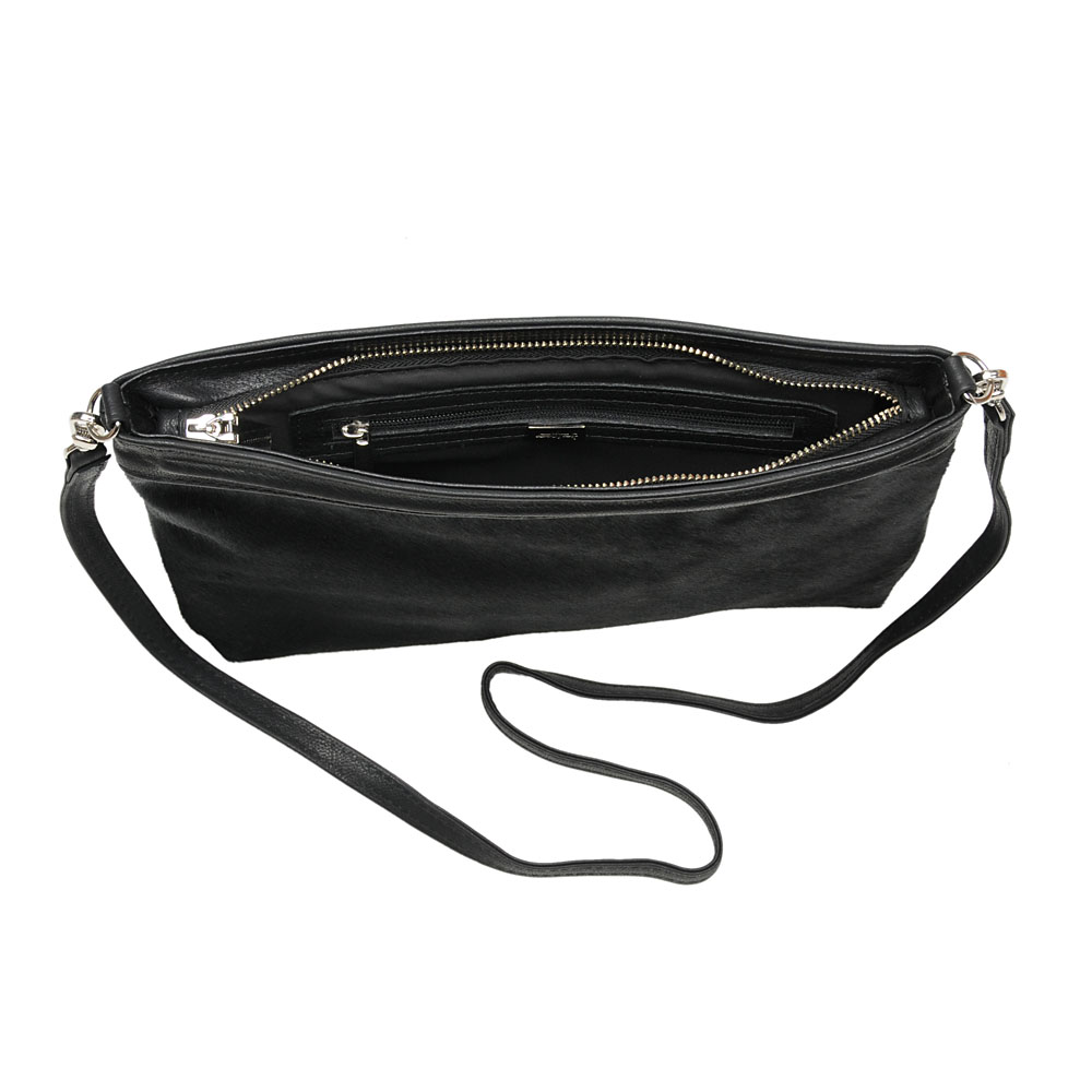 V BAG BLACK with bracelet